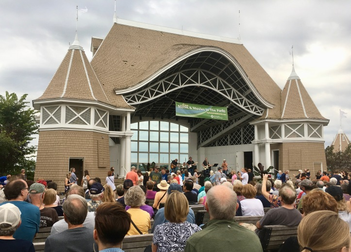 Lake Harriet Bandshell in Minneapolis on Labor Day 2019